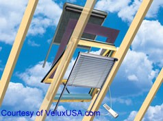 Different options of the VELUX System